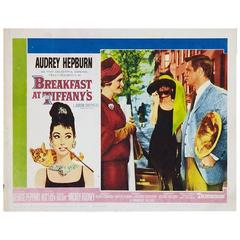 """Breakfast At Tiffany's"" Film Poster, 1961"