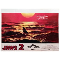 """""""Jaws 2"""" Film Poster, 1978"""