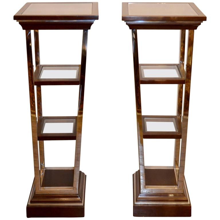 1970s Tiered Shelves