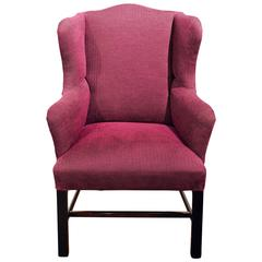 18th Century George III Wingback Armchair