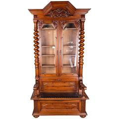 Cupboard with Chest Groschkus Wilhelminian Era, circa 1870