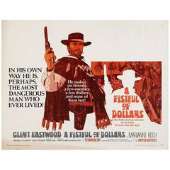 """""""Fistful of Dollars"""" Poster, 1964"""