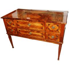 Wonderful 19th Century Parquetry Commde/Desk