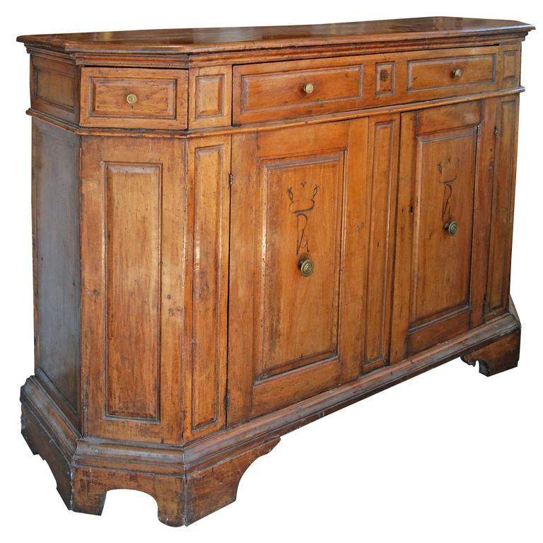 18th Century Italian Walnut Buffet