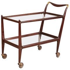 Rare Bar Cart Designed by Ico Parisi