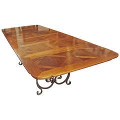 Beautiful Parquet De Versailles Dining Table
