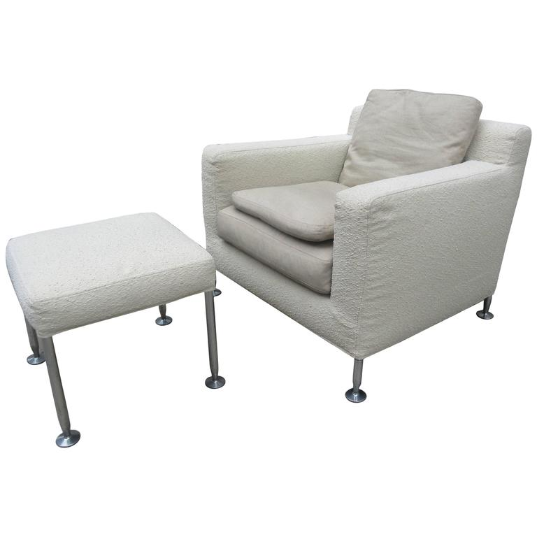 Antonio Citterio For B B Italia Harry Lounge Chair And