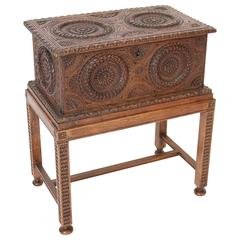 Brittany Box on Stand Occasional Table