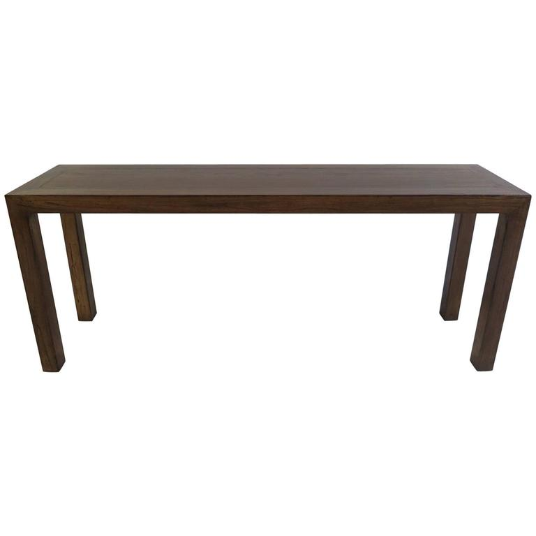 Parsons Table Console