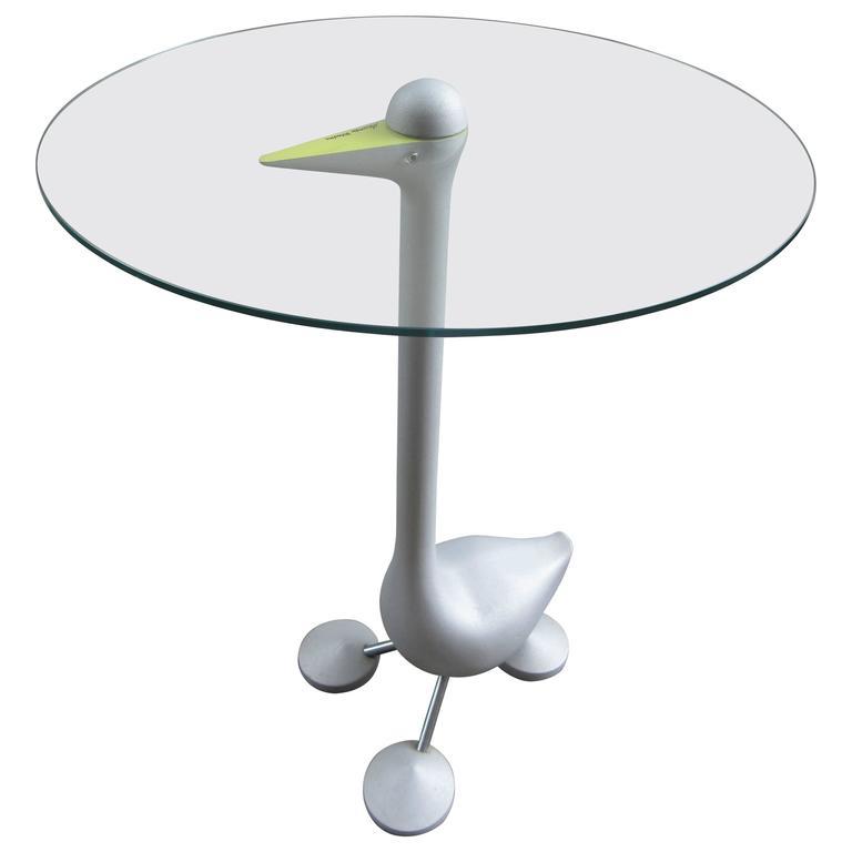 Alessandro Mendini for Zanotta Sirfo Edizioni Goose Table For Sale