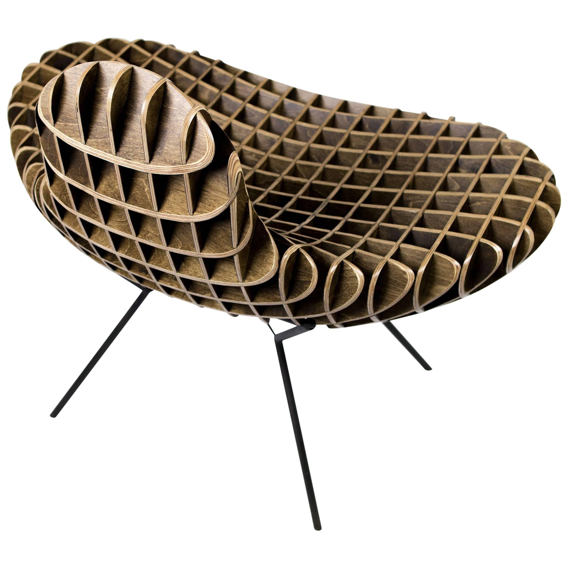 'The Quarry Collection' Bantam Chair, by Studio Artist, Ryan Dart, USA, 2017