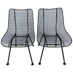 Pair of Russell Woodard Dining Chairs