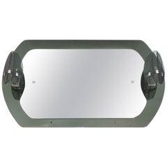 20th Century Fontana Arte Lighted Mirror
