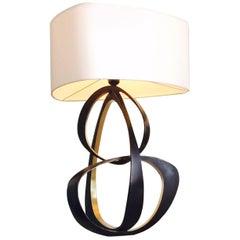 "Bronze ""Volubile"" Lamp by Herve Van Der Straeten"