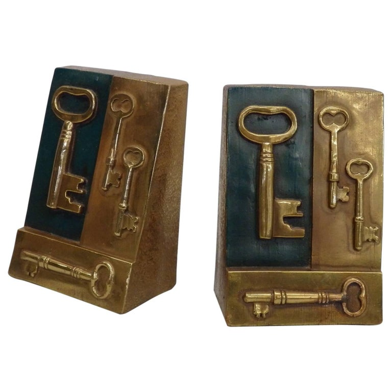 Key to Knowledge Bookends For Sale