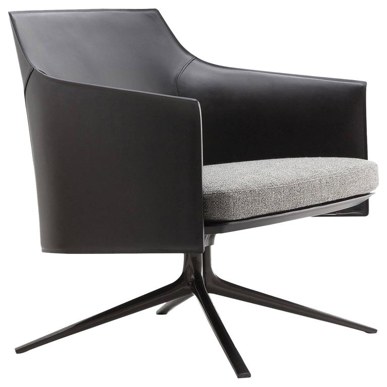 Poliform Stanford Low Back Armchair by Jean-Marie Massaud 1