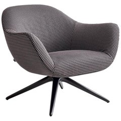 Poliform Mad Revolving or Four-Leg Armchair by Marcel Wanders
