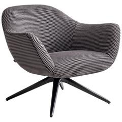 Poliform Mad Revolving Or Four Leg Armchair By Marcel Wanders
