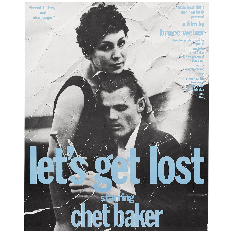"""""""Let's Get Lost"""" Original US Film Poster"""