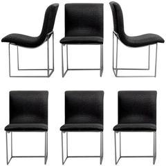 Milo Baughman Dining Chairs