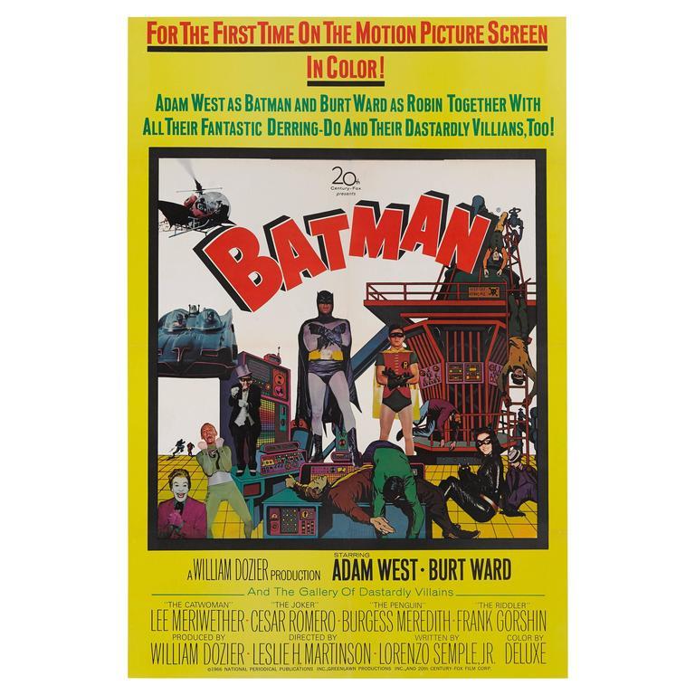 """Batman"" Original US Film Poster"