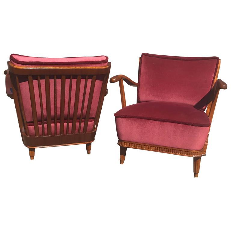 Mid-Century Modern Lounge Chairs by Svante Skogh