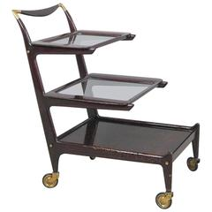 Organic Tea Trolley, Bar, Serving Cart by Cesare Lacca