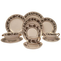 "Spode ""Kent"" Pattern Porcelain Dinner Service"