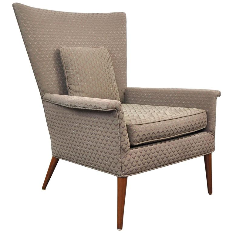 Paul McCobb for Custom Craft Wingback Lounge Chair