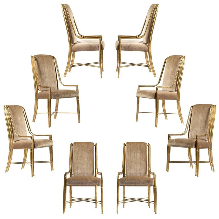 'The Imperial Chair' Set of Eight by Weiman/Warren Lloyd for Mastercraft