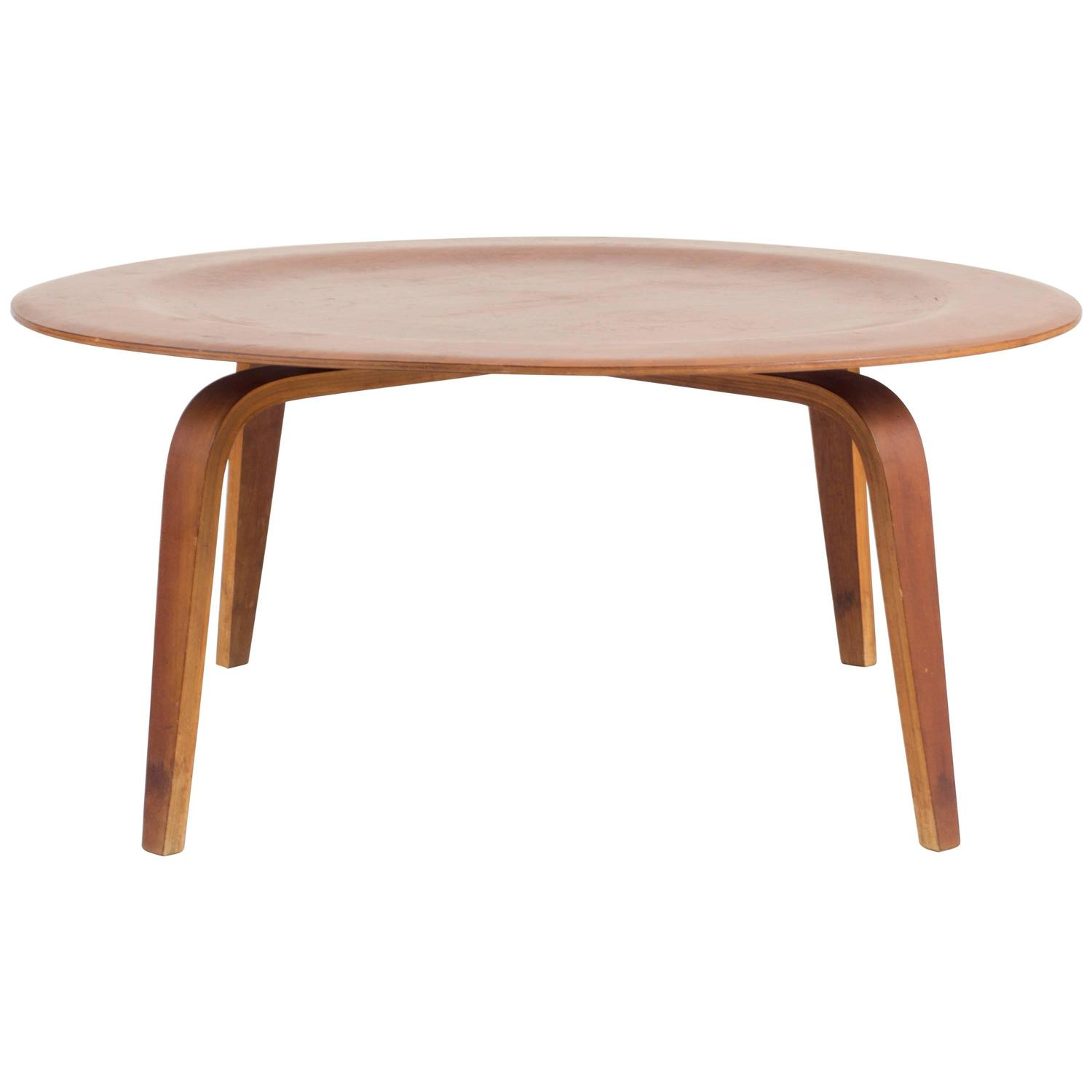 Eames Herman Miller CTW Coffee Table in Walnut Evans Products