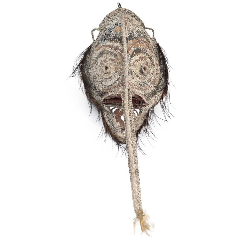 Sepik River Mask from Papua New Guinea