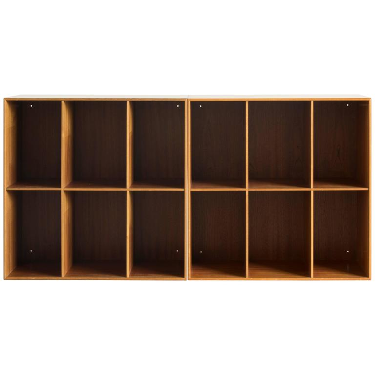 Two Mogens Koch Bookcases for Rud. Rasmussen