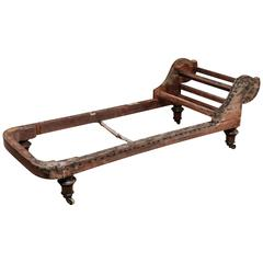 19th Century Mahogany Daybed