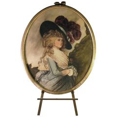 After Thomas Gainsborough, Duchess of Devonshire Watercolor