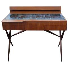 Rare Altamira Desk by Ico Parisi and Pietro Zuffi for De Poli