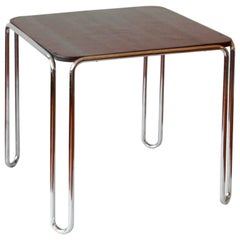 Tubular-Steel B10 Table by Marcel Breuer, Standard Möbel, Berlin, circa 1929