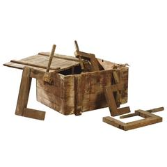 Wooden Crate by Armand Albert Rateau, circa 1920-1930