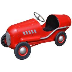 1950s Triang Racer Metal Pedal Car
