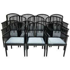 """Set of 14 Vintage Davis Allen """"Andover"""" Chairs for Stendig"""