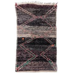 Vintage Beni M'rirt Moroccan Rug
