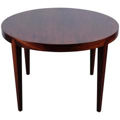 Round Coffee Table by Severin Hansen for Haslev Møbelfabrik, 1950s