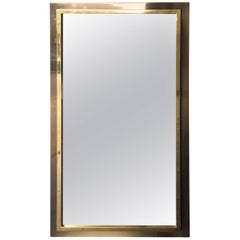 Belgo Chrome Brass Mirror