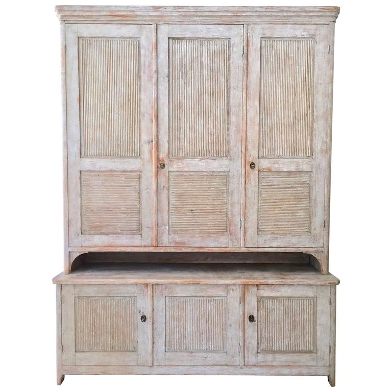 Exceptional Swedish Period Gustavian Cabinet 1