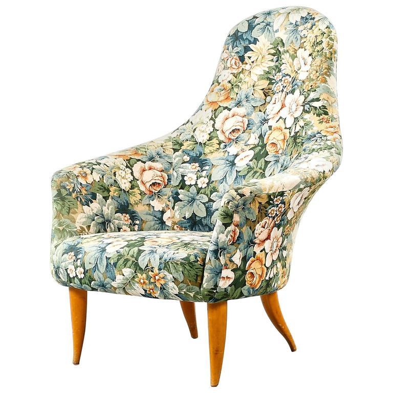 Kerstin Horlin-Holmquist 'Big Adam' Lounge Chair for Nordiska Kompaniet