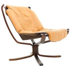 Falcon Lounge Chair by Sigurd Resell, Norway, 1971