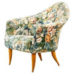 Kerstin Hörlin-Holmquist 'Little Adam' Lounge Chair for Nordiska Kompaniet