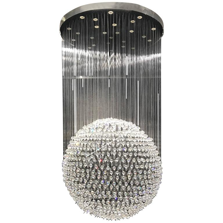 size swarovski ceiling of fixture bathroom chandelier full pecaso crystal chandeliers crystals sale small fixtures lighting for light