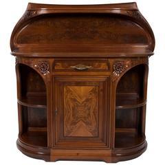 "Louis Majorelle French Art Nouveau Mahogany Sideboard ""Vicorne,"" circa 1900"
