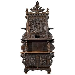 Louisiana World's Fair Walnut Cabinet
